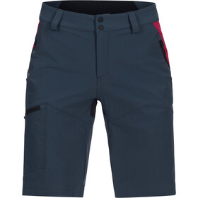 Peak Performance W's Light Softshell Carbon Shorts Blue Steel